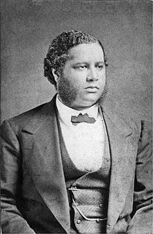 Francis Lewis Cardozo, the first black person in the U.S elected to a state-wide political position