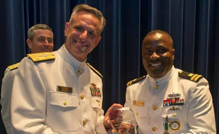 US Navy awards Nigerian-born officer for financial frugality