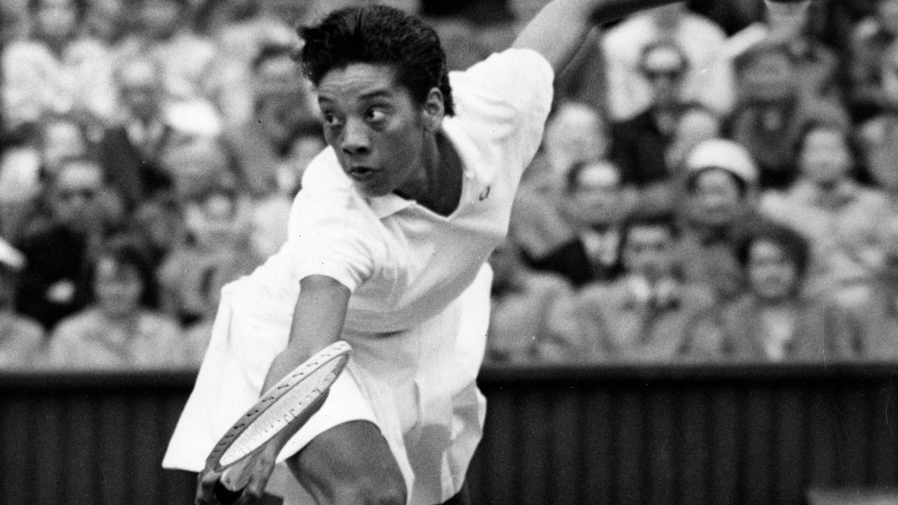 August 25: Althea Gibson becomes the first African-American to play in an international tennis tournament