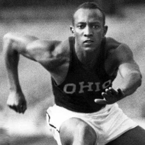 August 9: Jesse Owens won fourth gold medal at the Berlin Olympics