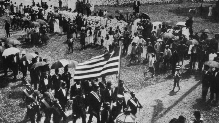 JULY 26: Liberia declared as an Independent Republic