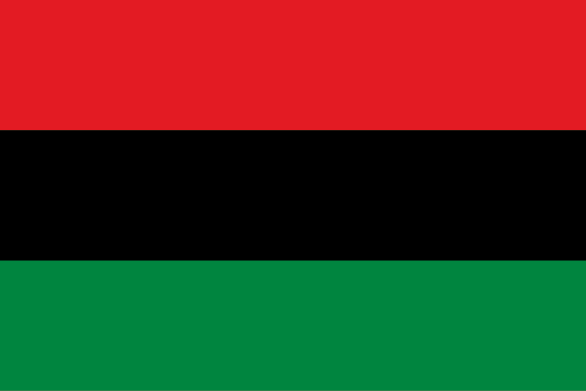 Pan-African flag adopted on August 13