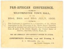 July 23: Pan-African Congress met in London