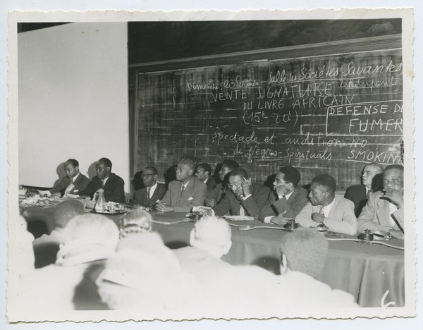 September 19 – First international conference of Black writers and artists holds in Paris
