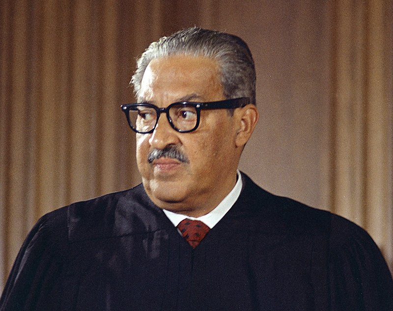 August 30: First African-American to serves on the U.S. Supreme Court