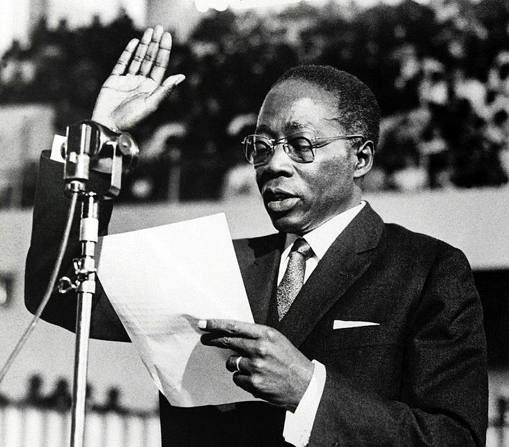 September 5 – Léopold Sédar Senghor, poet, writer and Senegalese politician elected president