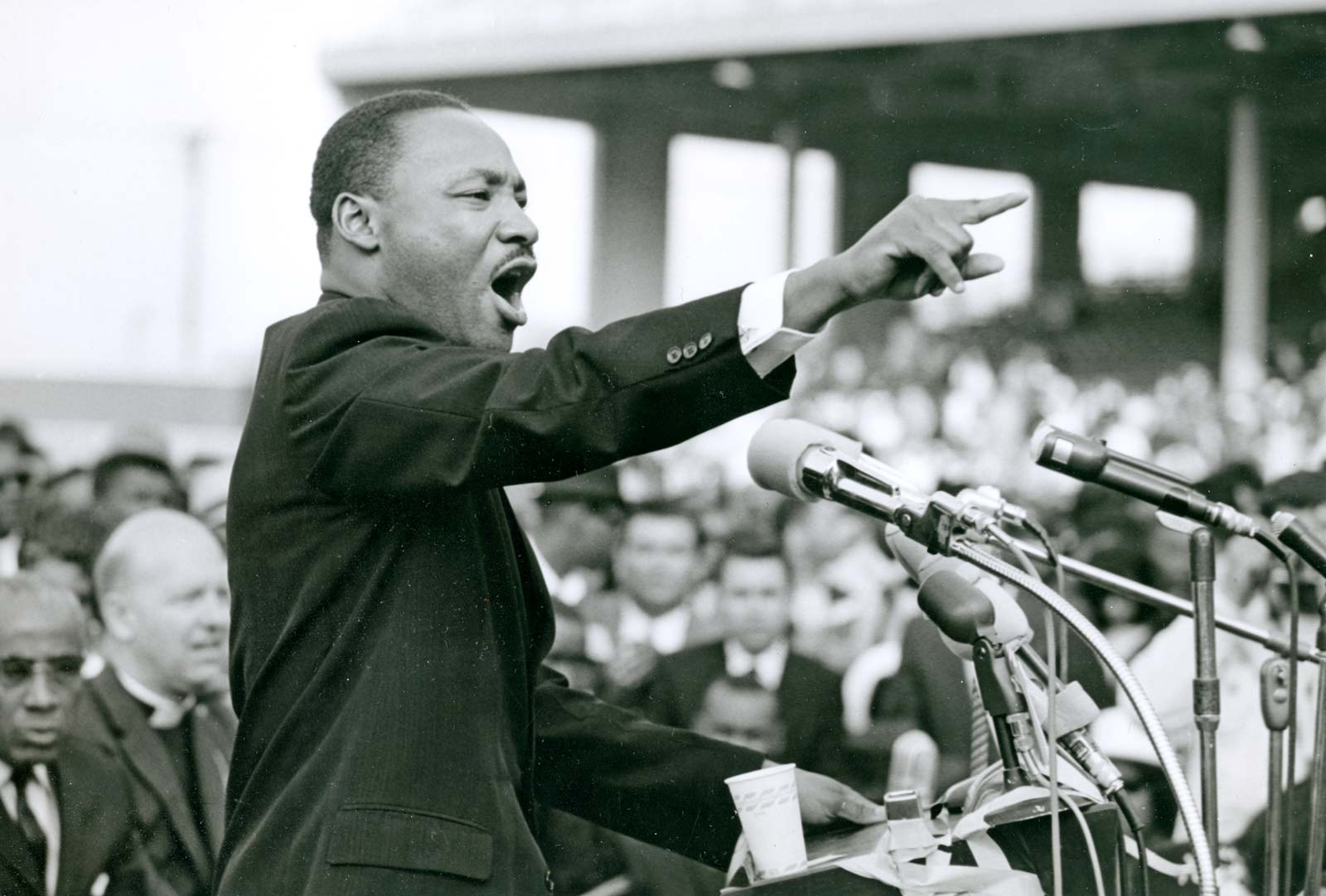 October 14, 1964 – Martin Luther King Jr. wins Nobel Peace Prize for combating racial inequality through non-violent resistance